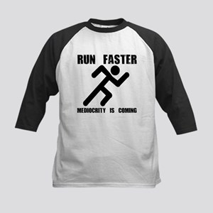 Run Faster Kids Baseball Jersey