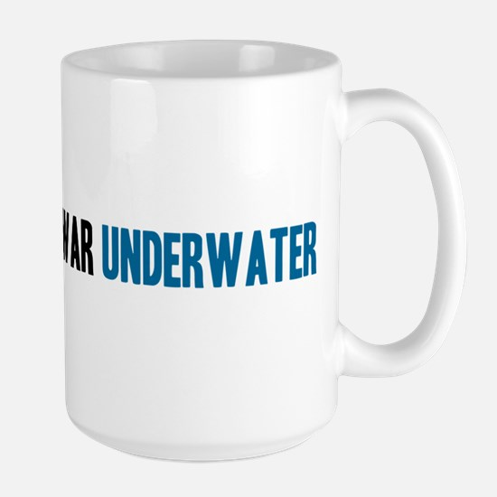 I Spent the Cold War Underwat Large Mug