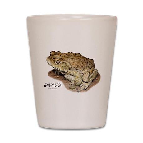Colorado River Toad Shot Glass