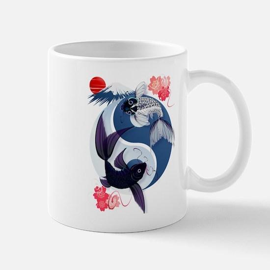 Yin and Yang Koi Mug