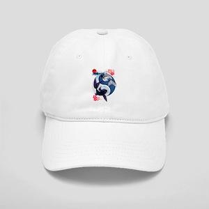 Yin and Yang Koi Cap