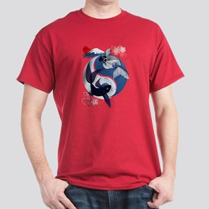 Yin and Yang Koi Dark T-Shirt