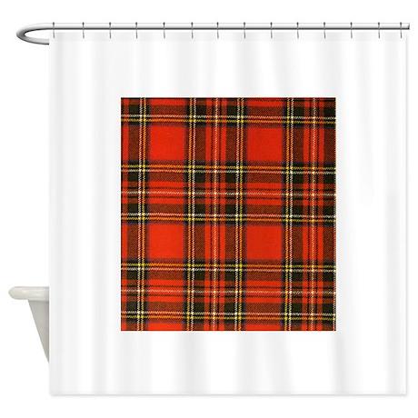 Tartan Pride Shower Curtain