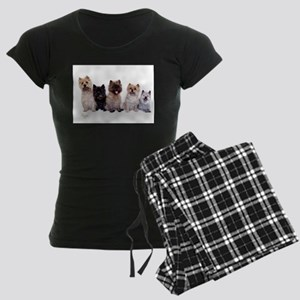 Cairn Terriers Women's Dark Pajamas