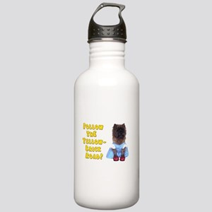 Cairn Terrier Oz Yello Stainless Water Bottle 1.0L