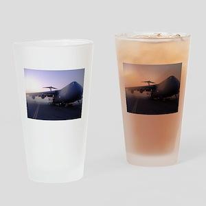 C-5 GALAXY Drinking Glass