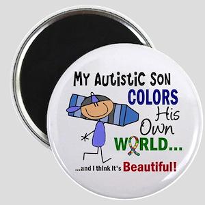 Colors Own World Autism Magnet