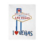 Las Vegas Twin Duvet
