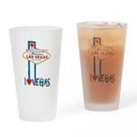Las Vegas Drinking Glass