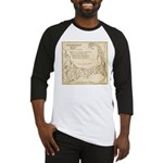 Old Cape Cod Map Baseball Jersey
