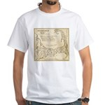 Old Cape Cod Map White T-Shirt