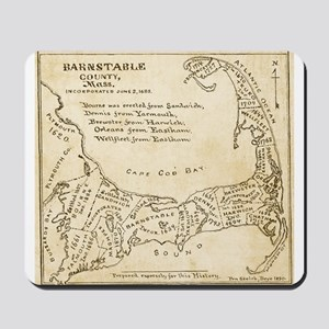 Old Cape Cod Map Mousepad