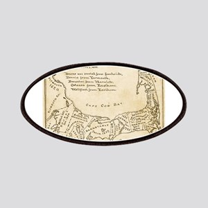 Old Cape Cod Map Patches