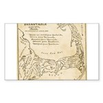 Old Cape Cod Map Sticker (Rectangle 10 pk)