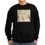 Old Cape Cod Map Sweatshirt (dark)