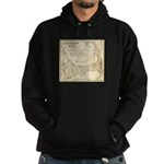 Old Cape Cod Map Hoodie (dark)