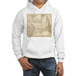 Old Cape Cod Map Hooded Sweatshirt