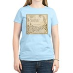 Old Cape Cod Map Women's Light T-Shirt