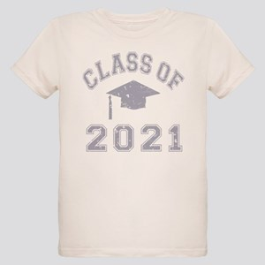 Class Of 2021 Graduation Organic Kids T-Shirt