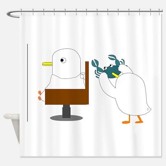 Haircut Shower Curtain