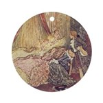 Dulac's Sleeping Beauty Ornament (Round)