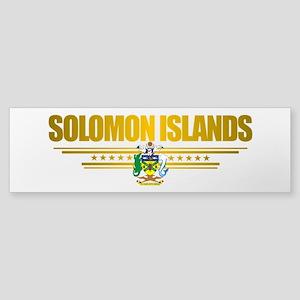 """Solomon Islands Flag"" Sticker (Bumper)"