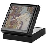Dulac's Little Mermaid Keepsake Box