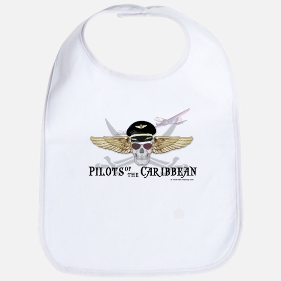 Pilots of the Caribbean Bib