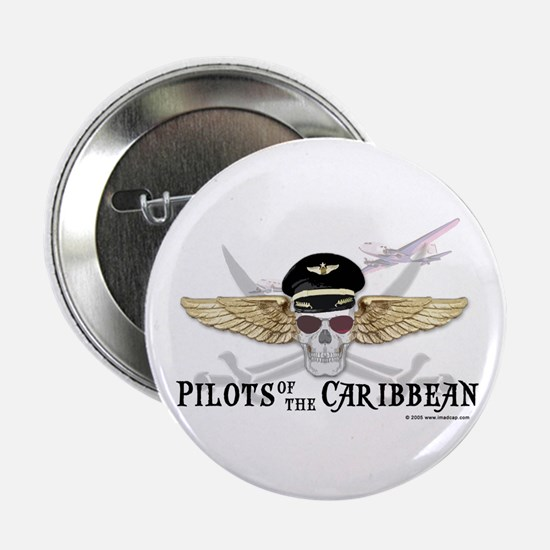"""Pilots of the Caribbean 2.25"""" Button (10 pack)"""