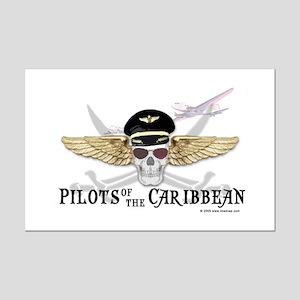 Pilots of the Caribbean Mini Poster Print