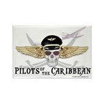 Pilots of the Caribbean Rectangle Magnet (10 pack)