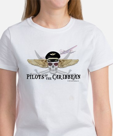 Pilots of the Caribbean Women's T-Shirt