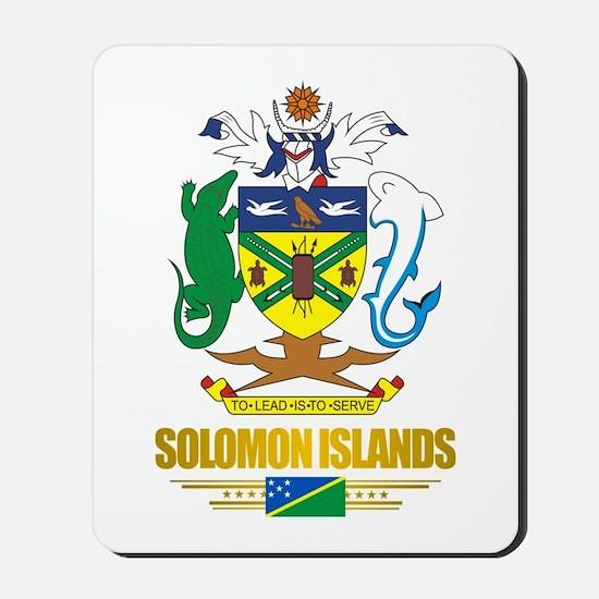 """""""Solomon Islands COA"""" Mousepad"""