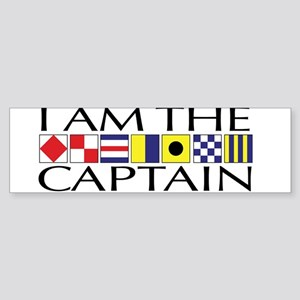 I am the Captain Sticker (Bumper)