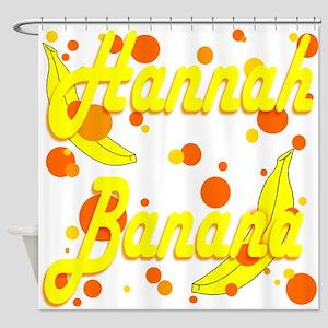 Hannah Banana Shower Curtain