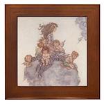 WH Robinson's Little Mermaid Framed Tile