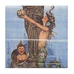 WH Robinson's Little Mermaid Tile Coaster