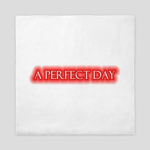 a perfect day Queen Duvet