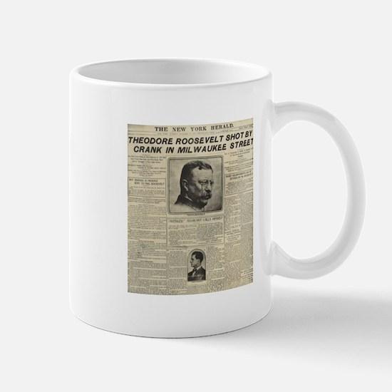 Theodore Roosevelt Shot! Mug