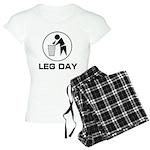 Leg Day Puke Women's Light Pajamas