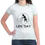 Leg Day Puke Jr. Ringer T-Shirt