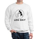 Leg Day Puke Sweatshirt