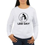 Leg Day Puke Women's Long Sleeve T-Shirt