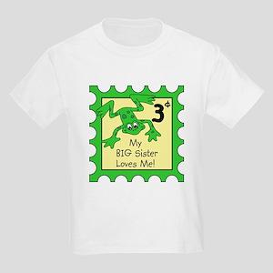 frog stamp big sister T-Shirt