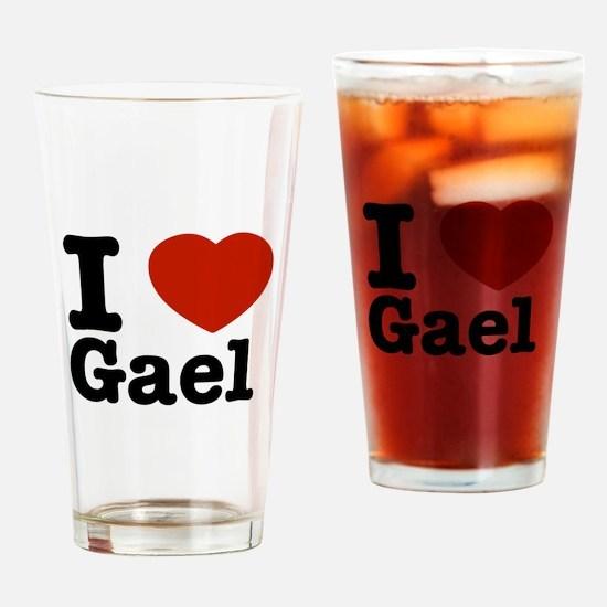 I love Gael Drinking Glass