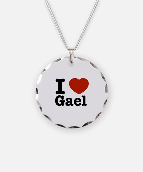 I love Gael Necklace