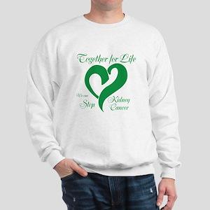 Personalize Kidney Cancer Sweatshirt