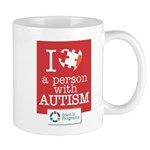 I <3 A Person With Autism Mug