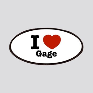 I love Gage Patches