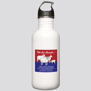 """""""We the Sheeple..."""" Stainless Water Bottle 1.0L"""